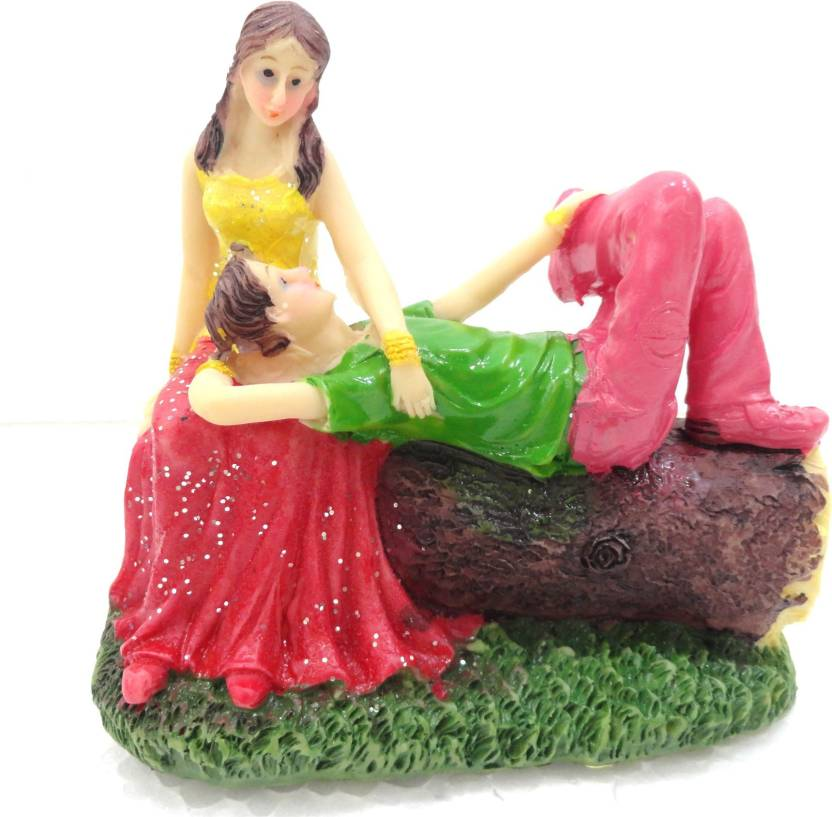 Unique Palette Loving Couple Figurine Showpiece Statue Anniversary Gift Birthday Gifts For Boyfriend Husband