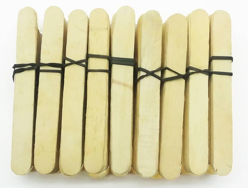 c652c080eb Qweezer ( Pack OF 50 Pcs ) Ice Cream Sticks best Wooden Ice Creem Sticks  Popsicle Sticks 50 pcs icream stick - ( Pack OF 50 Pcs ) Ice Cream Sticks  best ...