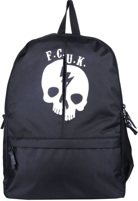 ac21504d33c French Connection DEAD MAN BACKPACK 20 L Backpack BLACK - Price in ...