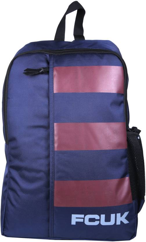 849e64ee7bf French Connection FCUK BIG STRIPE BACKPACK 20 L Backpack MARINE BLUE ...