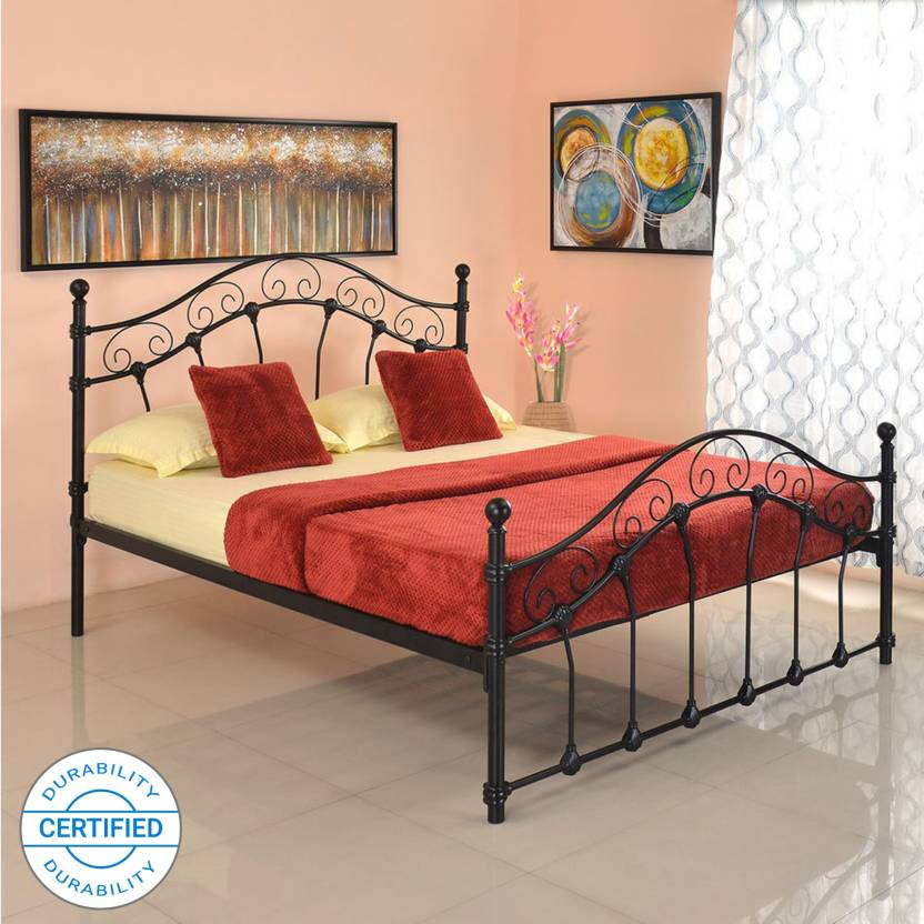 3095d3f9acac home by Nilkamal Emma Metal Queen Bed Price in India - Buy  home by ...
