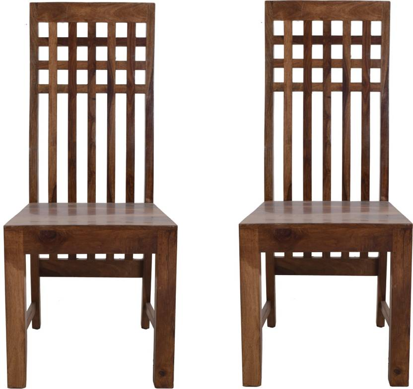 Induscraft Kq Designer Solid Wood Dining Chair Price In