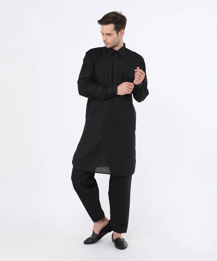 bd9d7cdd78 Hangup Men Pathani Suit Set - Buy Hangup Men Pathani Suit Set Online at Best  Prices in India | Flipkart.com
