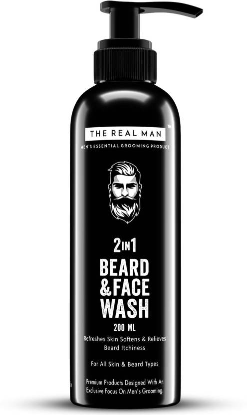 THE REAL MAN All New Beard Wash & Conditioner(200ML)  100