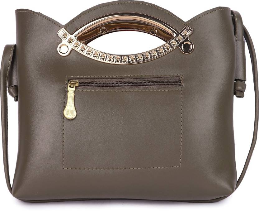Buy Ayesha Fashion Sling Bag GREY Online   Best Price in India ... 886ee3c492a0f