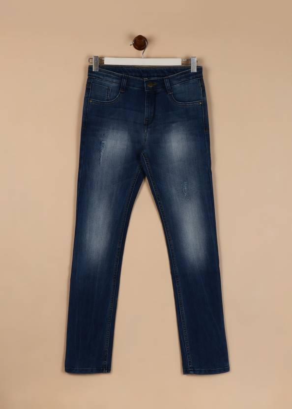 95be21ed6b0 Flying Machine Slim Boys Dark Blue Jeans - Buy ME BLUE Flying Machine Slim  Boys Dark Blue Jeans Online at Best Prices in India   Flipkart.com