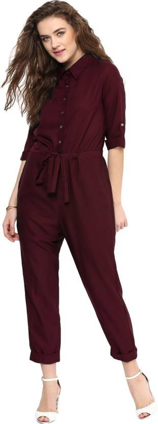 1efbfdebf561 Uptownie Lite Solid Women Jumpsuit - Buy Uptownie Lite Solid Women ...