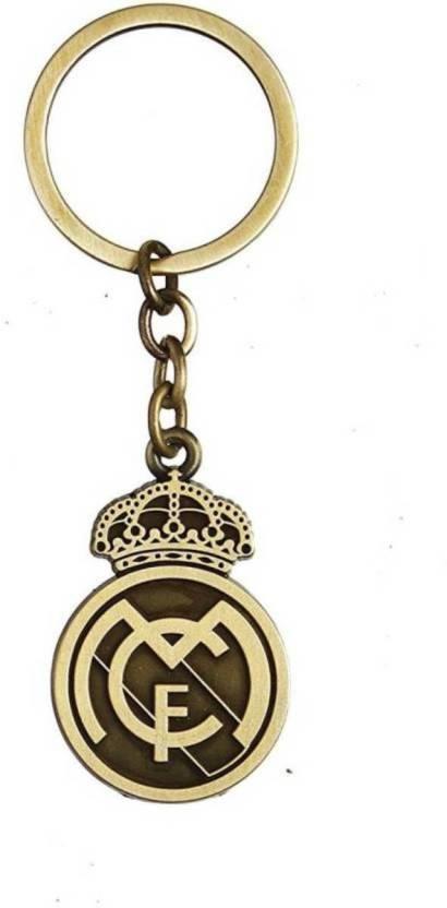 Jakha Real Madrid Football Club Sports Vintage Antique Gold Metal Keyring  for Men Women Boys Girls f4130e9bdc