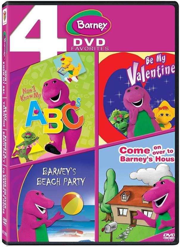 Barney Now I Know My Abc Be My Valentine Barneys Beach Party