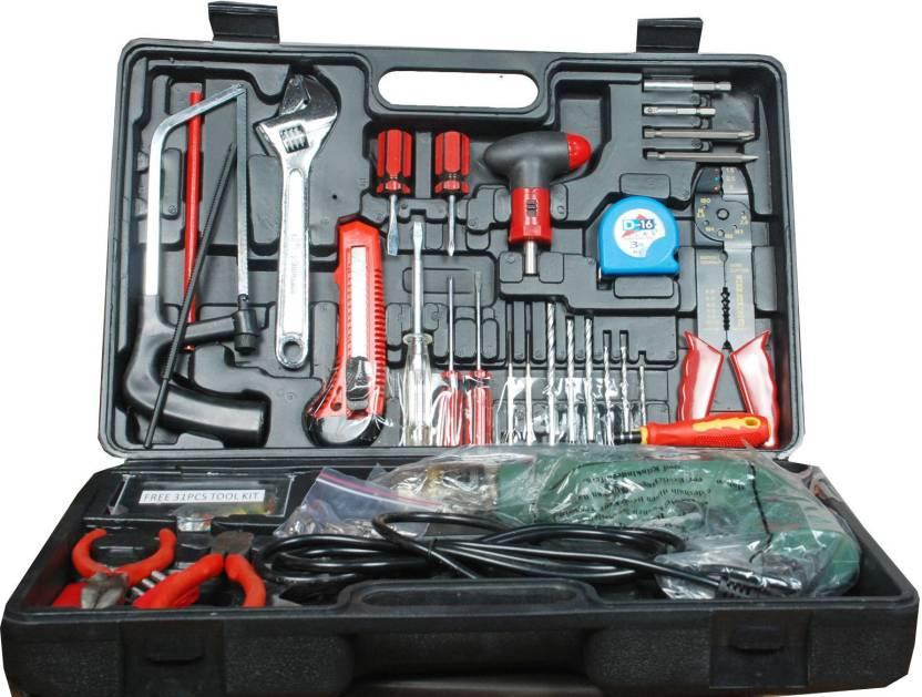 Homelux Power   Hand Tool Kit 210 Tools