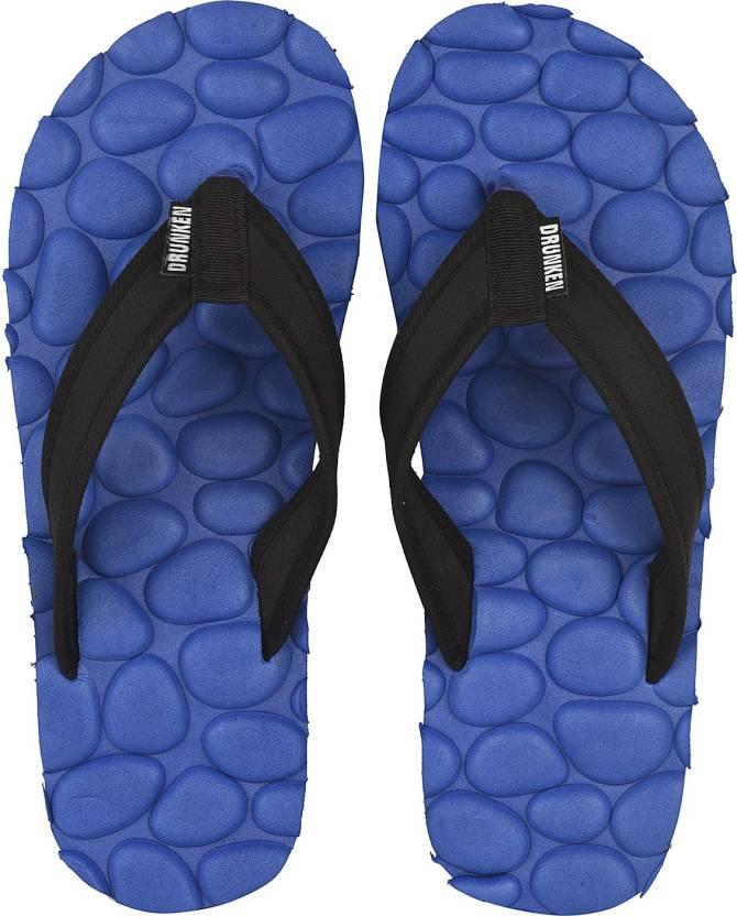 0de7b9bdf8c9 DRUNKEN Mens Blue Acupressure Slippers and Foot Massage flip flops Indian  Size 6 Slippers - Buy DRUNKEN Mens Blue Acupressure Slippers and Foot  Massage flip ...