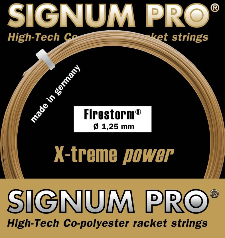 Signum Pro Firestorm 1 30mm- 12m 1 30 Tennis String - 12 m