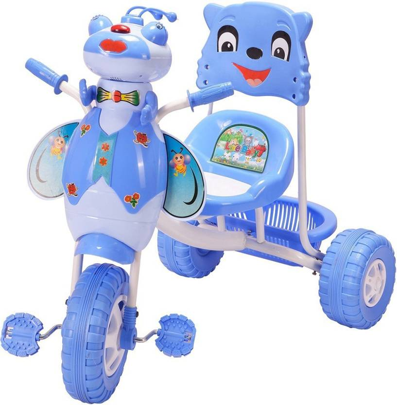 6740fd29a72 Oximus Baby Tricycle for Kids with Front & Basket Recommended for Toddler  1,2,3,4,5 Years Old Children Tricycle for Baby Boys & Girls Gift (Blue) ...