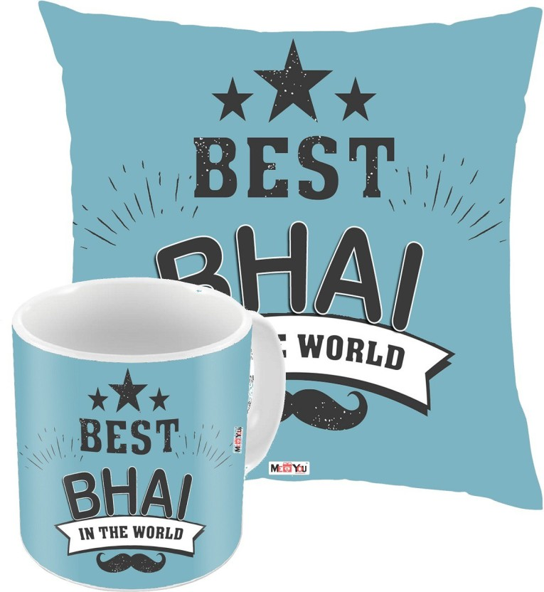 MEu0026YOU Bhaidooj Gifts Rakhi Gifts Birthday Gifts Anniversary Gifts for Brother IZ18DTCM-508 Cushion Mug Gift Set Price in India - Buy MEu0026YOU Bhaidooj ...  sc 1 st  Flipkart & MEu0026YOU Bhaidooj Gifts Rakhi Gifts Birthday Gifts Anniversary ...