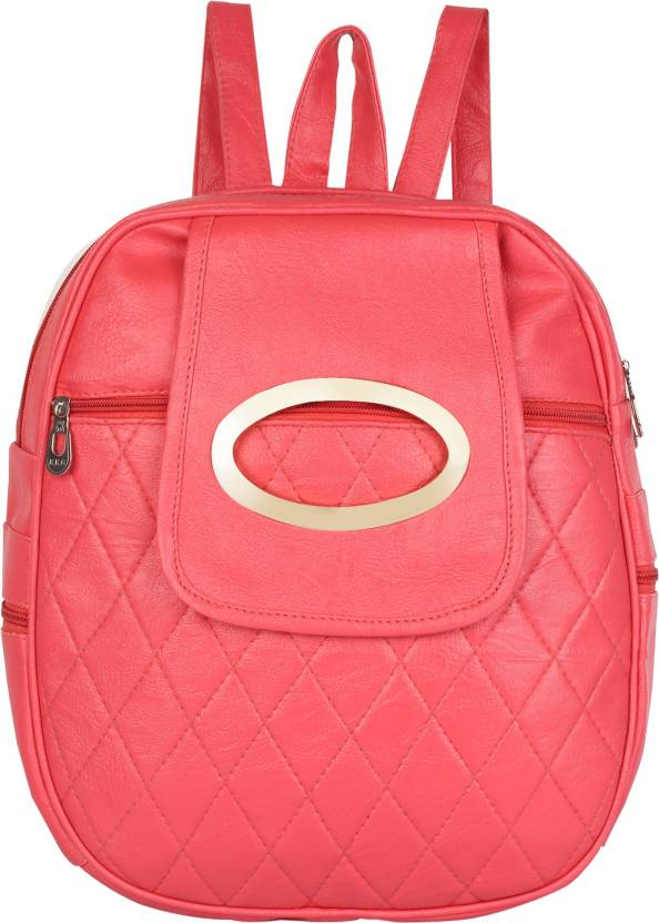 37335285765b Rajni Fashion PU Leather Girls Backpack