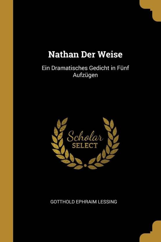 Nathan Der Weise Buy Nathan Der Weise By Gotthold Ephraim