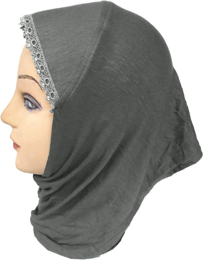 Lace Under Scarf Bonnet//Hijab Tube Style