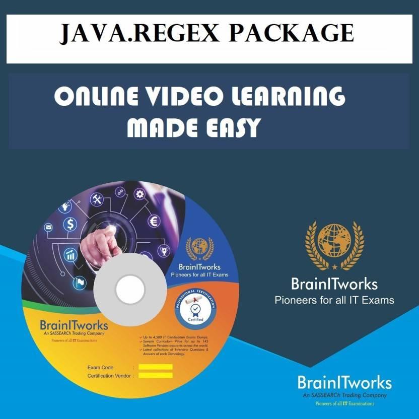 SAPSMART Java regex Package Online Learning Made Easy - SAPSMART