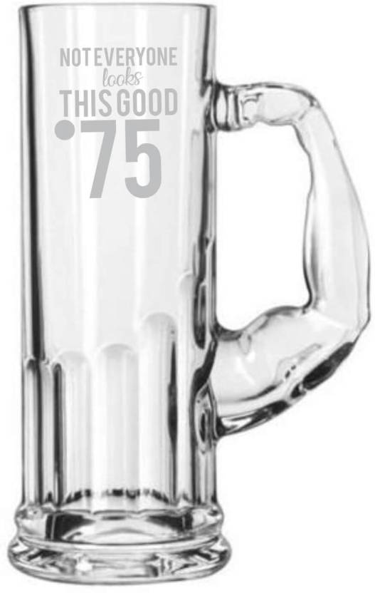 Giftsmate 75th Birthday Gifts Not Everyone Look This Good At 75 Engraved For Men