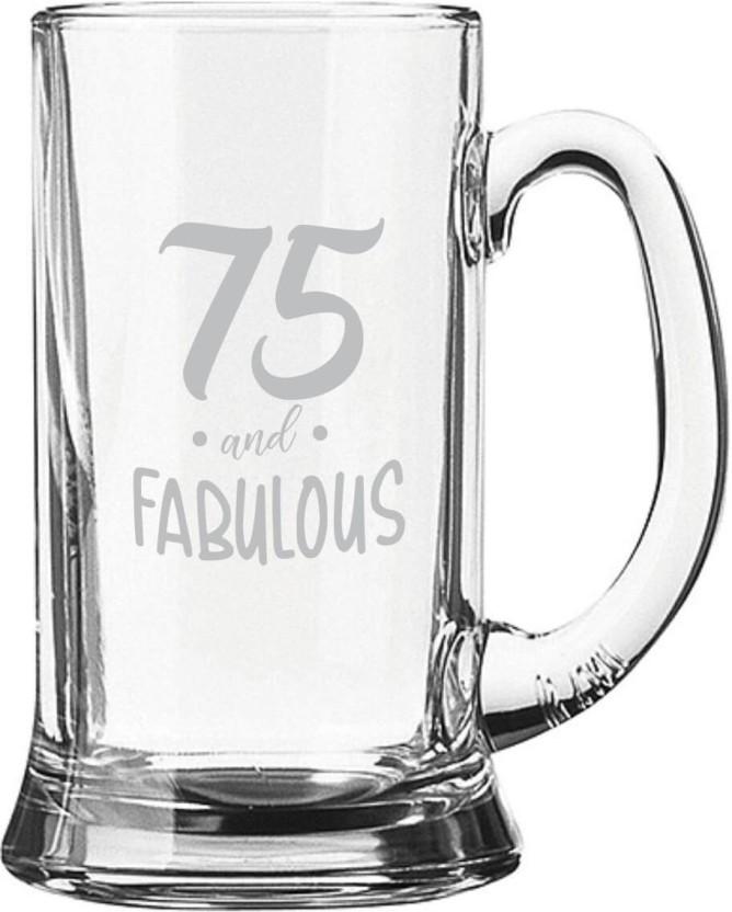251 & Giftsmate 75th Birthday Gifts Fabulous Engraved for Men - Jumbo ...