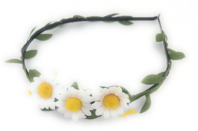 26d80e3b3f4a0 SKD Women/ Girls Sunflower Headband Hair Accessories Hair Band Price ...