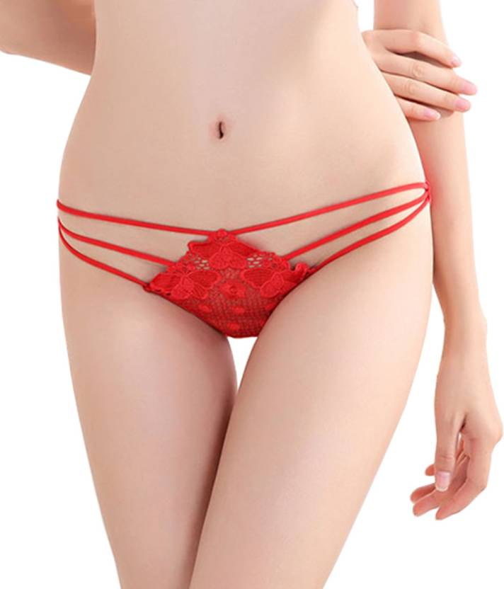 0b56f01342e2 DealSeven Fashion Women Thong Red Panty - Buy DealSeven Fashion ...