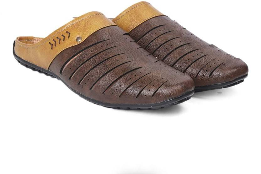 42ef92ebbf6a Red Rose Men Brown Sandals - Buy Red Rose Men Brown Sandals Online at Best  Price - Shop Online for Footwears in India