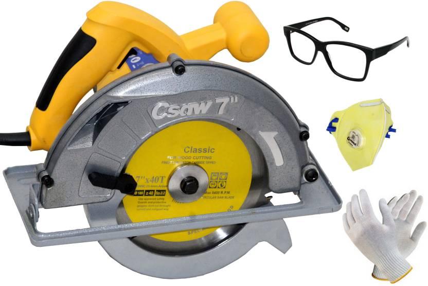 Digital Craft Pro Tool 7inch Electric Circular Saws 1250w