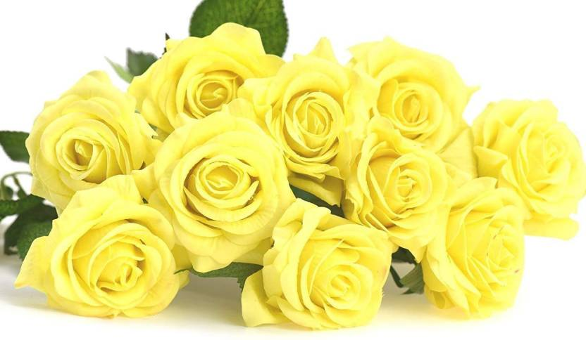 Fashion Hub Brand Decoration Home Flower Yellow Color Yellow - Which-artificial-flower-colors-are-good-for-a-home