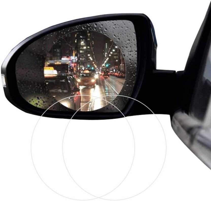 Tantra Anti Fog Car Rearview Mirror Film Car Mirror Rain Blocker