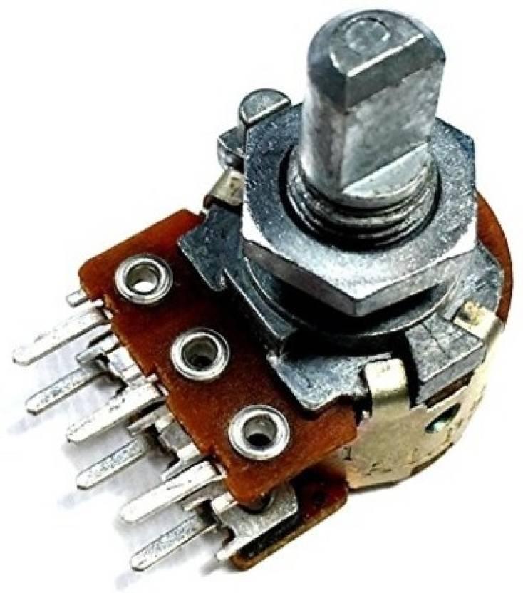 ESP 100K Potentiometer Dual Audio - Pack of 5 pcs Electronic