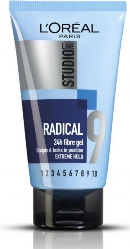 56bae03a422 L'Oreal Paris Studio Line 9 Radical 24h Fibre Gel, Extreme Hold Hair Styler  - Price in India, Buy L'Oreal Paris Studio Line 9 Radical 24h Fibre Gel, ...