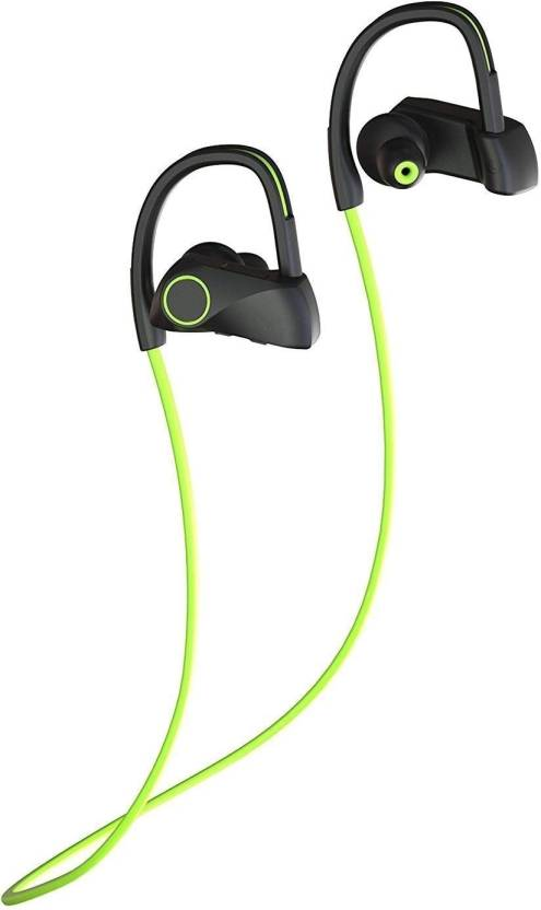 Wecool D200-Green 4.1 Wirless Sports,iOS, Andorid, Windows Phones Bluetooth Headset with Mic (Green, In the Ear)