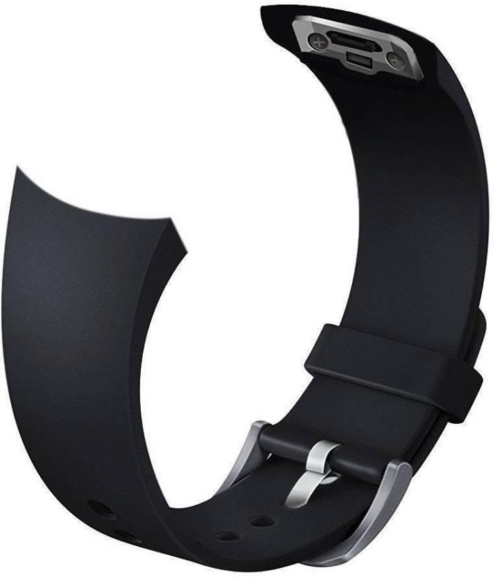 36837f0c7cc CELLFATHER Small 20mm Samsung Galaxy Gear S2 SM-720 SM-730 Black Smart Watch  Strap (Black)