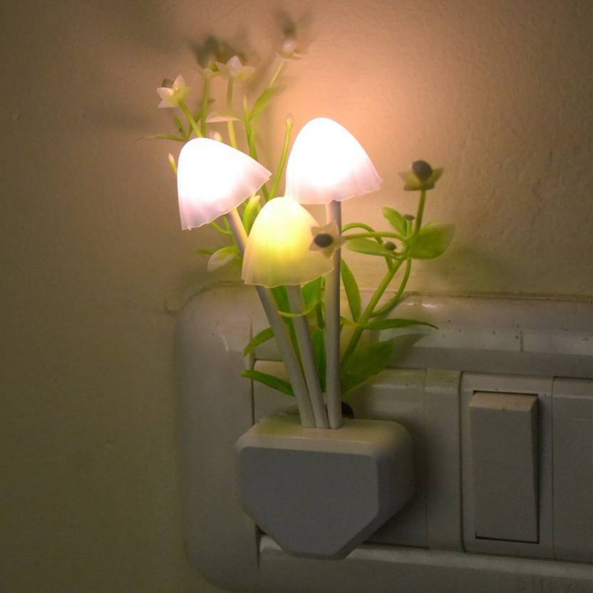 a9d48f844 Kitchen Hub Mushroom Lamp Automatic Sensor Light Multi Color Changing Night  Lamp