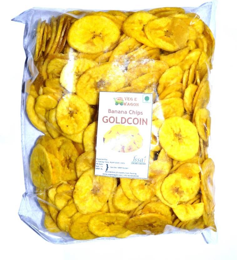 Veg E Wagon Banana Chips Gold Coin 1000 Chips