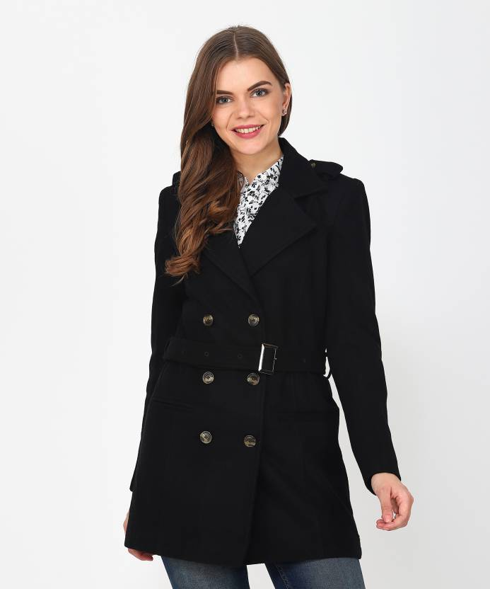 b083c0e7c048 U.S. Polo Assn Women Single Breasted Coat - Buy U.S. Polo Assn Women Single  Breasted Coat Online at Best Prices in India