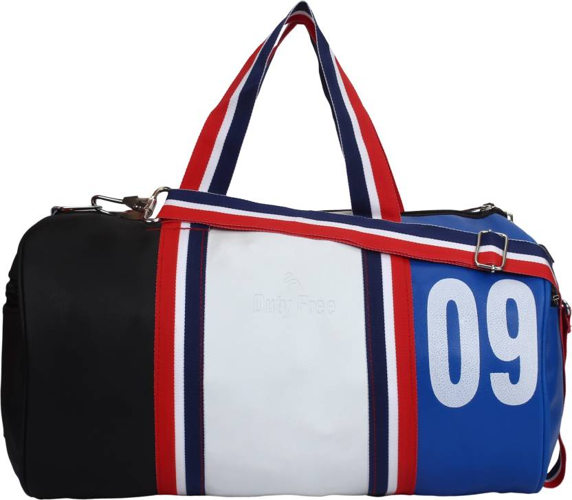 DUTY FREE Carry Bag - Travel Duffel Gym Bag Travel Duffel Bag ... 28bc1a23e