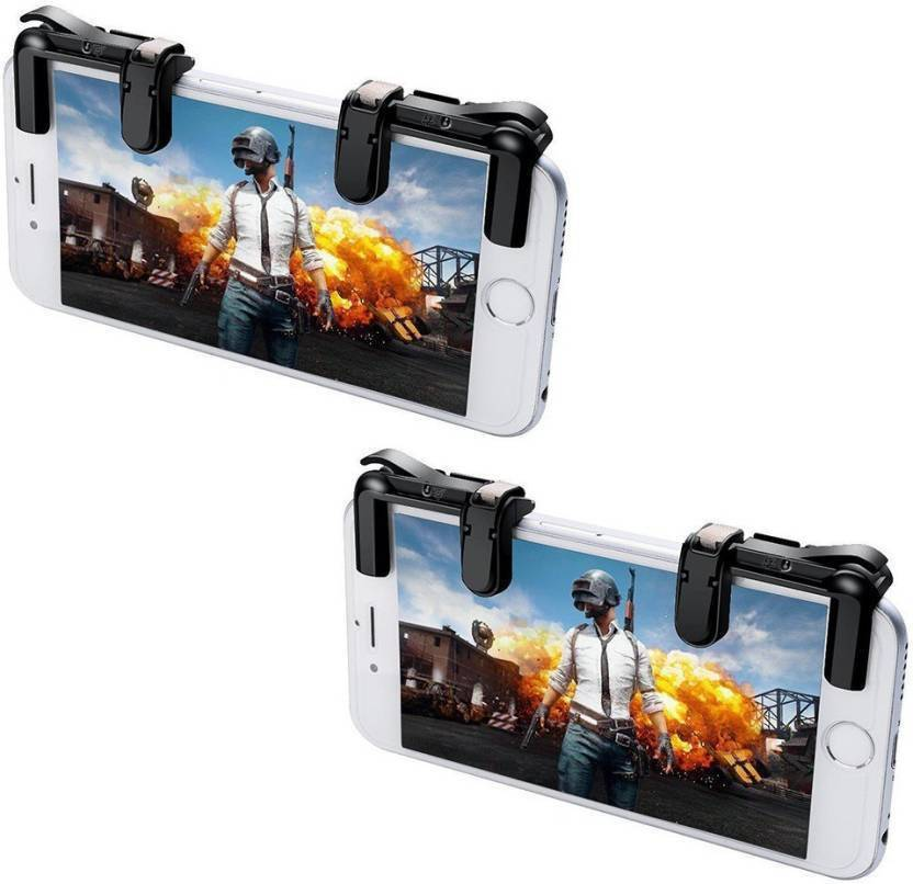 Mobone (Pack Of 2 Set) Triggers PUBG Fortnite Mobile Controller