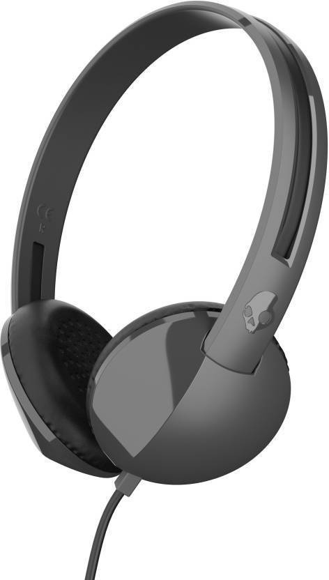 Skullcandy Anti Headphone Charcoal Black, On the Ear  Skullcandy Headphones