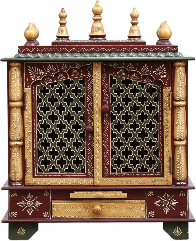 Marusthalee Pooja Mandir For Home Wooden Home Temple Price In India