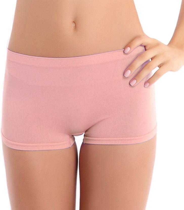 da951cda05a Brown Lotus Women's Boy Short Pink Panty - Buy Brown Lotus Women's ...