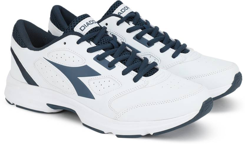 7df2b05a Diadora SHAPE 7 SL Running Shoes For Men - Buy WHITE /SALETRIN NAVY ...