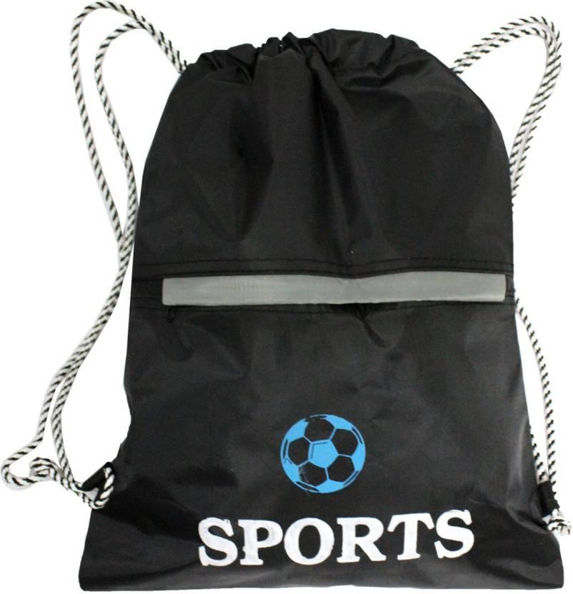 90bbda006b Best Bags Sports Waterproof Drawstring Dori Bag 17 L Backpack Black ...