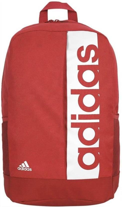 ADIDAS ORIGINALS Adi6547 18 Laptop Backpack Red Price in