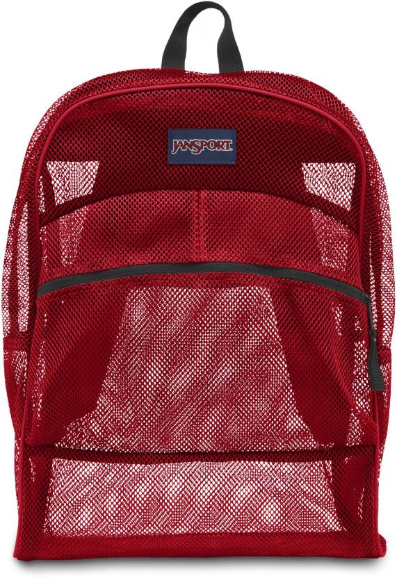 c5f127d3813 JanSport MESH PACK 32 L Backpack HIGH RISK RED - Price in India ...