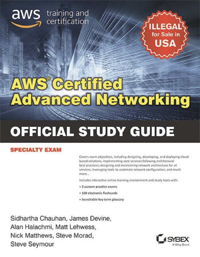 Aws Certified Advanced Networking Official Study Guide Specialty