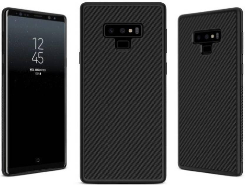 brand new 8c7db 8fb34 Trendycart Back Cover for Samsung Galaxy Note 9 Carbon Fiber Premium ...