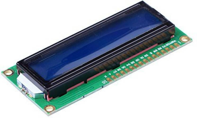 TECHWIZ 16 * 2 Character Lcd Display Module with Blue/Green