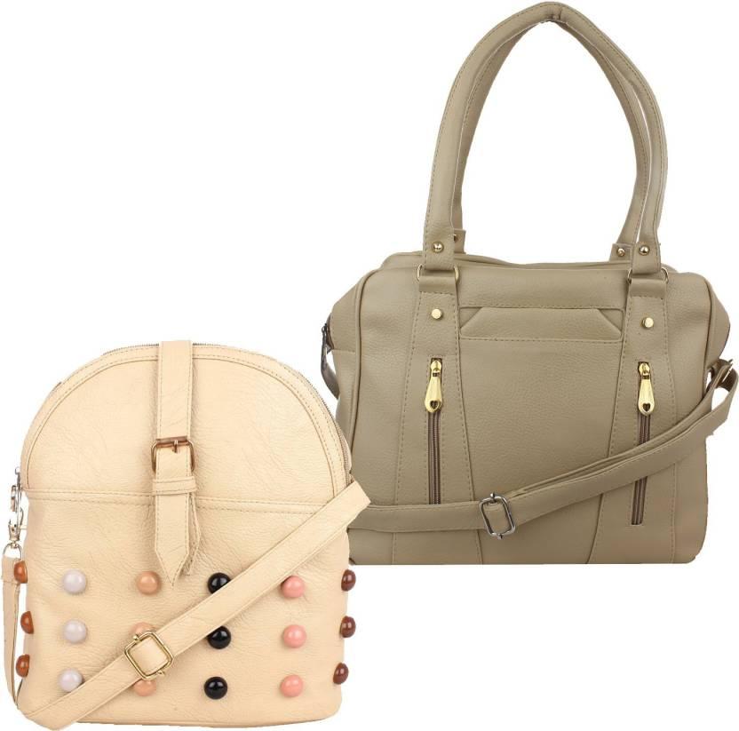 93bd4bd82d Buy Fillincart Sling Bag Beige Online   Best Price in India ...